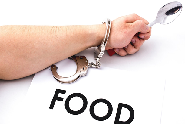 What are the common food addiction signs?